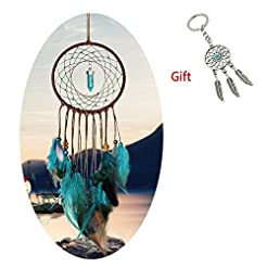 AWAYTR Feathers Dream Catcher Gift Wall ...