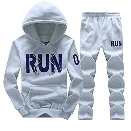 Amazon.com: VT BigHome Tracksuit Men Hoodies Men Winter Fleece Tracksuits Print Sportswear: Kitchen & Dining