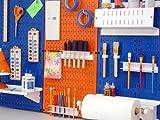 Wall Control Pegboard 32in x 16in Orange Metal