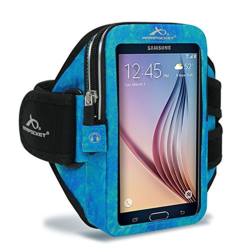 Armpocket® Ultra i-35™ armband for iPhone X/8/7/6s/6, Galaxy S8/S7S/6, S7/6 edge or Google Pixel 2/1 with slim cases or other phones up to 6.0