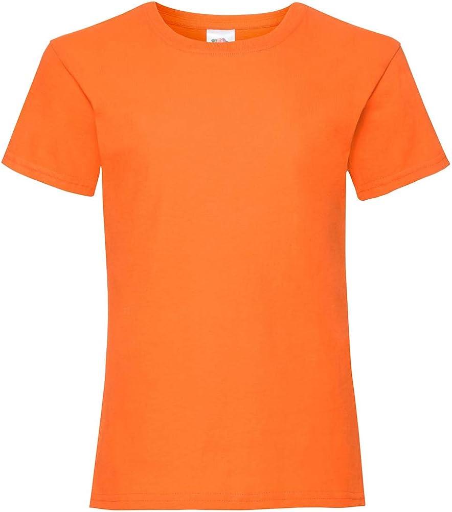 T-Shirt Bambina Fruit of the Loom Ss079b