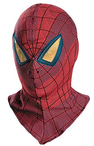 [Cos-me The Amazing Spider-Man Spiderman Fall Face Mask Cosplay] (Spiderman Mask Kids)