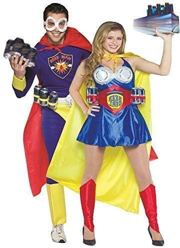 Parejas Hombre y mujer definitivo CERVEZA Hero superhéroe Comedia ...