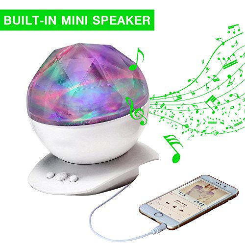 Night Lights Aurora Projection Color Changing Sleep ...