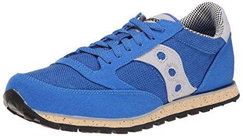 Saucony Originals Men's Jazz Low Pro Vegan Retro Shoe, Blue/Grey, 12 M US
