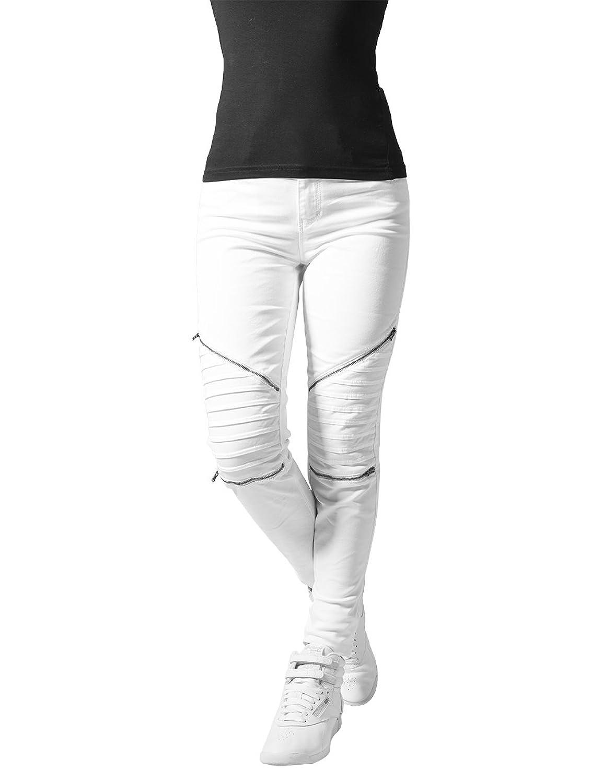 Urban Classics Ladies Jeans Stretch Biker Pants