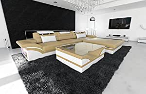 Modern Corner Sofa PARMA LED L - Shaped