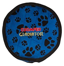 Boss Pet Chomper Gladiator Tuff Frisbee Toy for Pets, Assorted Colors