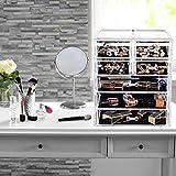 Makeup Organizer Acrylic Cosmetic with 7 Storage