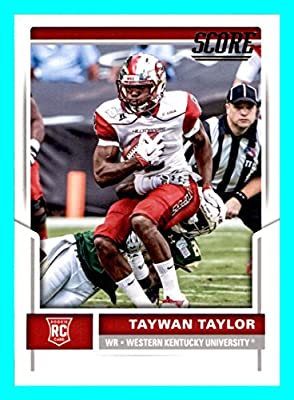 2017 Score #406 Taywan Taylor RC Rookie TENNESSEE TITANS WESTERN KENTUCKY