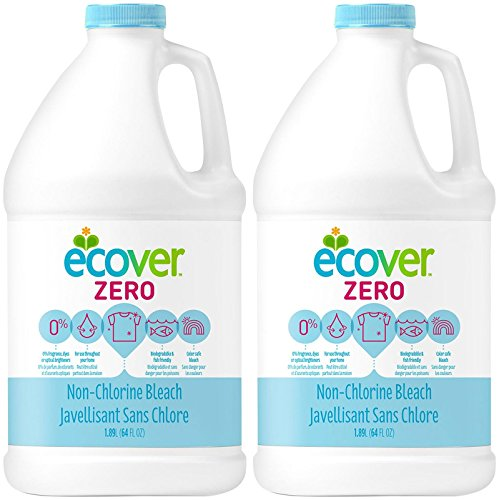 Bleach Laundry Ecover (Ecover Non-Chlorine Bleach 64 oz pack of 2)