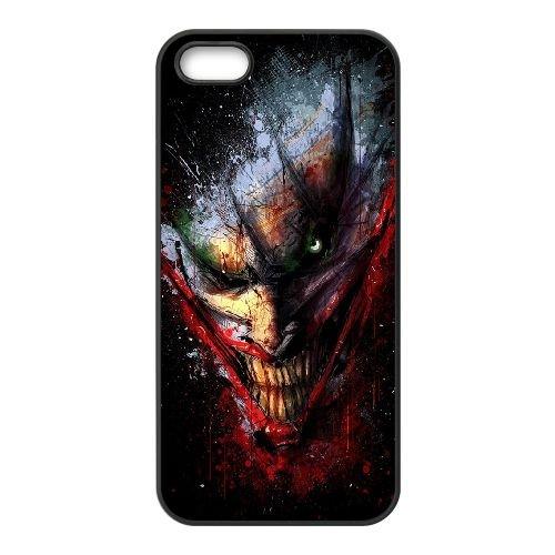 Dc Comics coque iPhone 4 4S cellulaire cas coque de téléphone cas téléphone cellulaire noir couvercle EEEXLKNBC24478