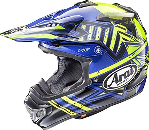 Arai Motocross Helmet - Arai VX-Pro 4 Shooting Star Blue Motocross Helmet - Small