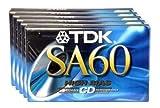 TDK SA-60S Cassette Tape Bonus Pack