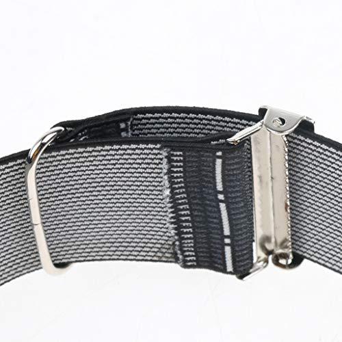 Fityle Men's Non Slip Elastic Shirt Garter Belt Sleeves Holder Arm Garter Band - Stripes, as described by Fityle (Image #5)