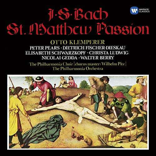 Bach: St. Matthew Passion (3cd by Warner Classics