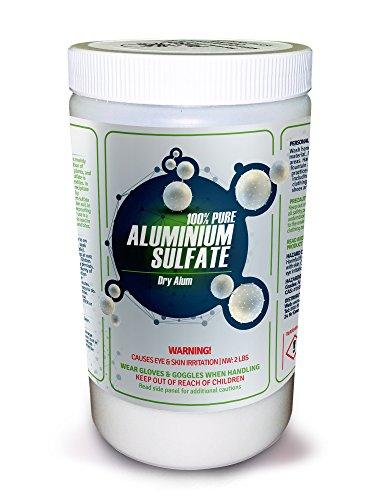 100% Pure Aluminum Sulfate
