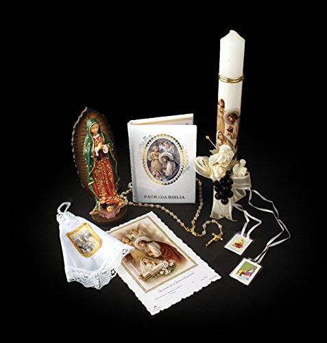 Fancy First Holy Communion 7-PC Gift Set for a Girl