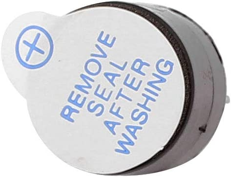 Aexit 5pcs DC Security /& Surveillance 5V Active Buzzer Magnetic Continous Beep Tone Alarm 12 mn/_ Horns /& Sirens x 9.5 mn/_