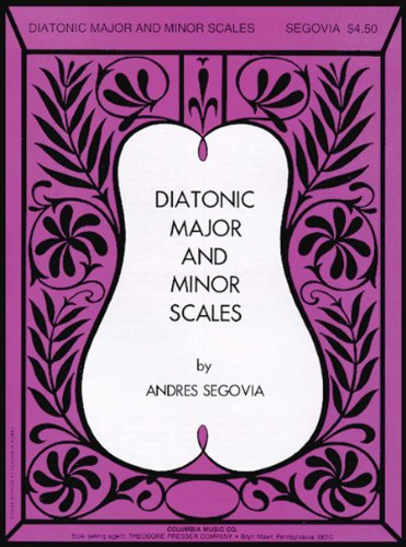 Diatonic Major And Minor Scales Book