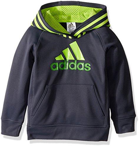 Scarlet Block adidas Boys 7X Athletic Pullover Hoodie