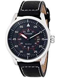 Citizen Men's AW1361-01E Sport Analog Display Japanese Quartz Black Watch