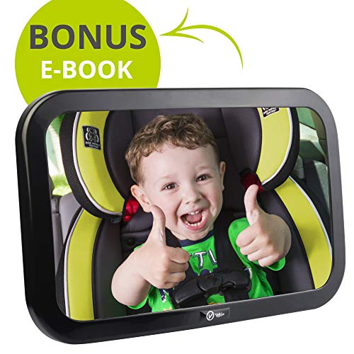 VolkGo Baby Car Mirror - Rear View Car Seat Mirror