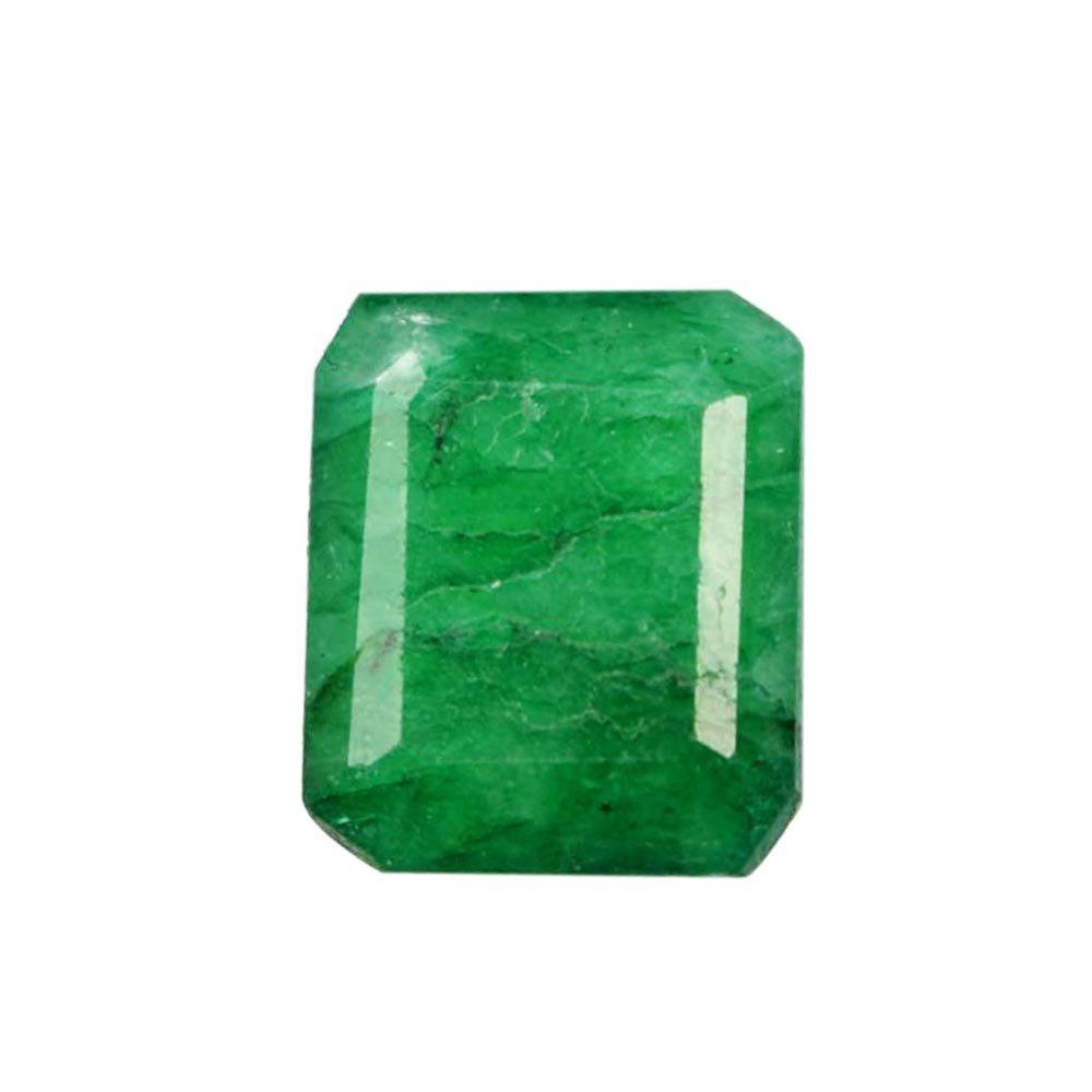 Attractive 5.30 Cts Shiny Green Emerald Gemstone - Egl Certified Perfect Emerald Cut Loose Gem AO-828 hamlet e commerce
