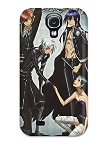 New Style D Gray Man Characters Premium Tpu Cover Case For Galaxy S4