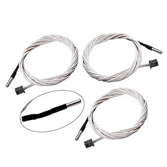 Amazon.com: 3 termistores HT-NTC100K actualizados, calorbot ...