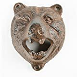 quirky bottle opener - CKB Ltd Wall Mounted Bear Bottle Opener Cast Iron Hand-Painted Finish - Gift Boxed