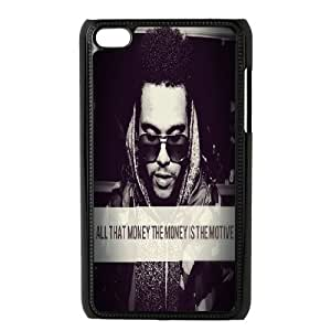 [The Weeknd Series] Ipod Touch 4 Cases the Weeknd the Morning, Case for Ipod Touch 4 4g 4th Tyquin - Black