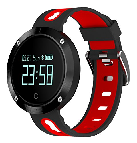 Sports Waterproof Watch,with Blood Pressure and Heart Rate Monitor for Iphone Android Phone.