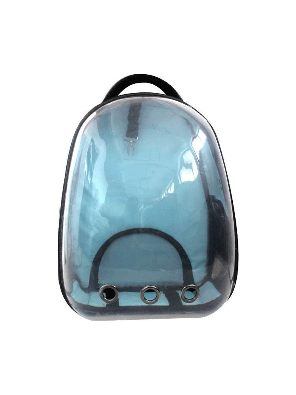 bluee Cat Bag Transparent Cat Backpack Outgoing Portable Cabin Bag Space Bag Cat Bag Dog Pet Bag Shoulder Bag