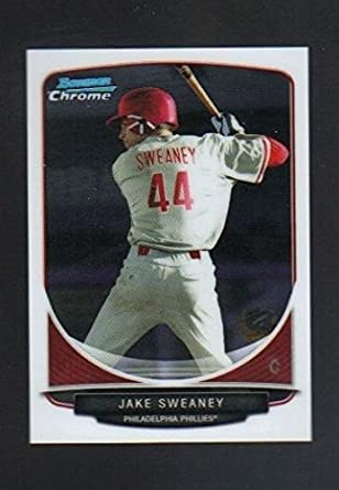 2013 Bowman Chrome Mini Prospect Limited  108 Jake Sweaney Philadelphia  Phillies at Amazon s Sports Collectibles Store 3344b6257