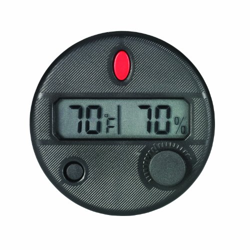 Hygroset DHYG-FM Adjustable Digital Hygrometer for Front Mount Humidor