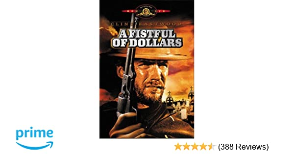 Amazon com: A Fistful of Dollars: Clint Eastwood, Gian Maria Volontè