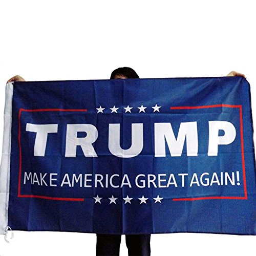 Datingday Trump Flag 3 x 5 Foot Make America Great Again Double Sided Printed
