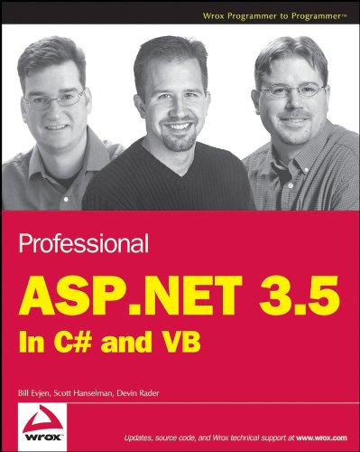 Professional ASP.NET 3.5: In C# and VB Pdf