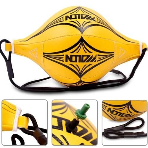 Double End Speed Ball Focus Boxing Punch Speed Ball Punching Thai MMA 3 Choice (YELLOW) by Kwanchan