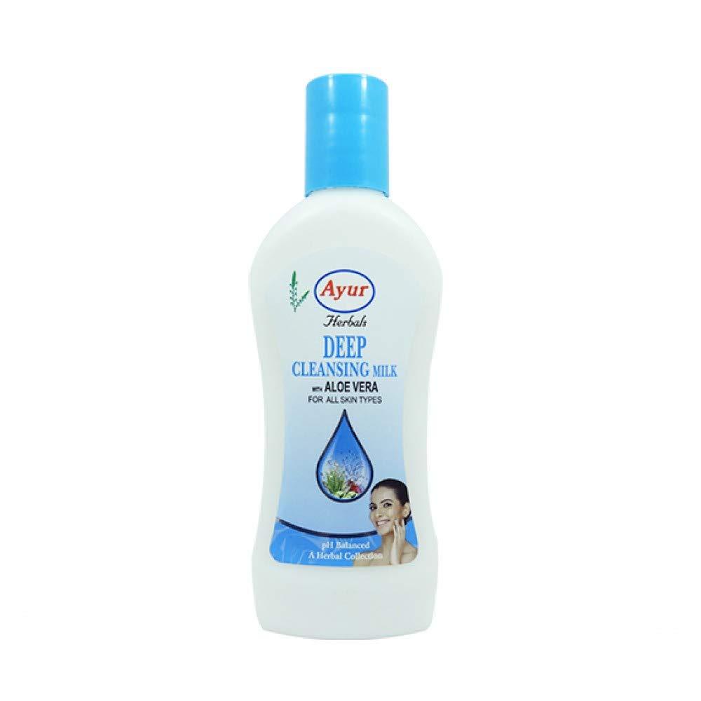 Ayur Herbals Deep Pore Cleansing Milk, 500Ml