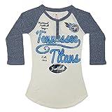 Girls 3/4 Sleeve Henley Shirt (FOIL PRINT): TEN TITANS