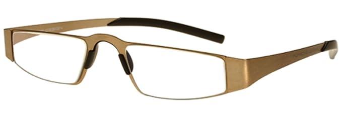 4f58e5166243 New Porsche Design P 8811 C Gold Reading Glasses  Amazon.co.uk  Clothing
