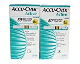 #6: Roche ACCU-CHEK Active Diabetic Test Strips - Box of 50 (2box)