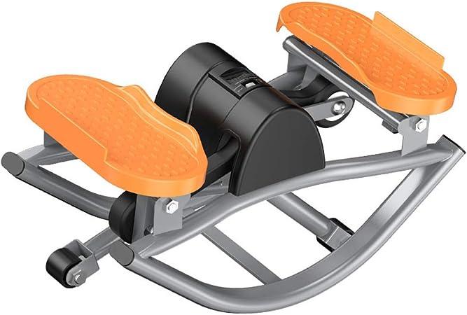 SHAIRMB Mini Bicicleta Estática, Stepper Swing, Mini Máquina De ...