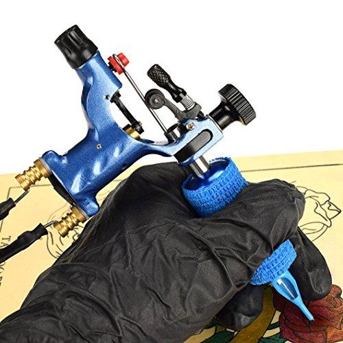 Price comparison product image Tattoo Machine Equipment, 1 Set Completed Exquisite Workmanship Tattoo Kit Equipment Tattoo Machine (Blue)