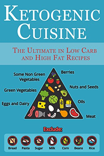 Ketogenic Cuisine: The Ultimate in Low Carb and High Fat Recipes by [Stevens, JR]