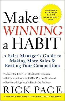Book Make Winning a Habit: Five Keys to Making More Sales and Beating Your Competition