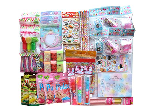 Fusion-Kawaii-Wonderful-Japanese-Signature-12-pc-Stationery-Set-Bundle-Assorted-Items