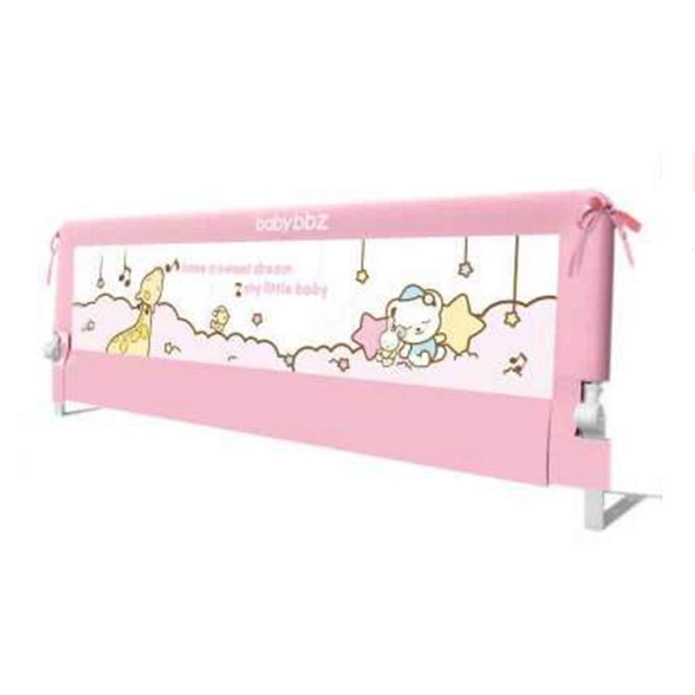 NAN liang 150 / 180cmシングルベッドレール子供安全ベッドガード、折り畳みベッドレール保護ガード - (ピンク) (サイズ さいず : 180cm) 180cm  B07K6M9K78